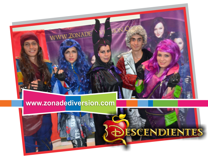 show fiestas infantiles descendientes bogota medellin evie mal uma malefica recreacionistas eventos animacion recreadores recreacion