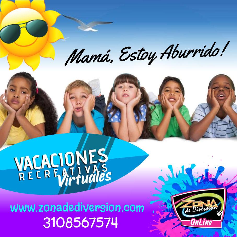 vacaciones recreativas bogota virtual virtuales vacaciones virtuales medellin cali villavicencio santa marta recreacion talleres fiestas eventos vacaciones para niños virtuales fiestas infantiles virtuales