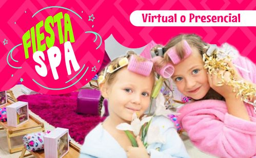 fiesta spa virtual spa para niñas bogota medellin miami recreacion recreacionistas spa party eventos spa virtual spa virtual para niñas
